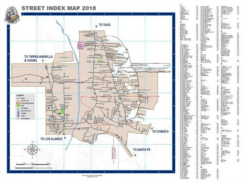 Large Format Maps Espanola Nm