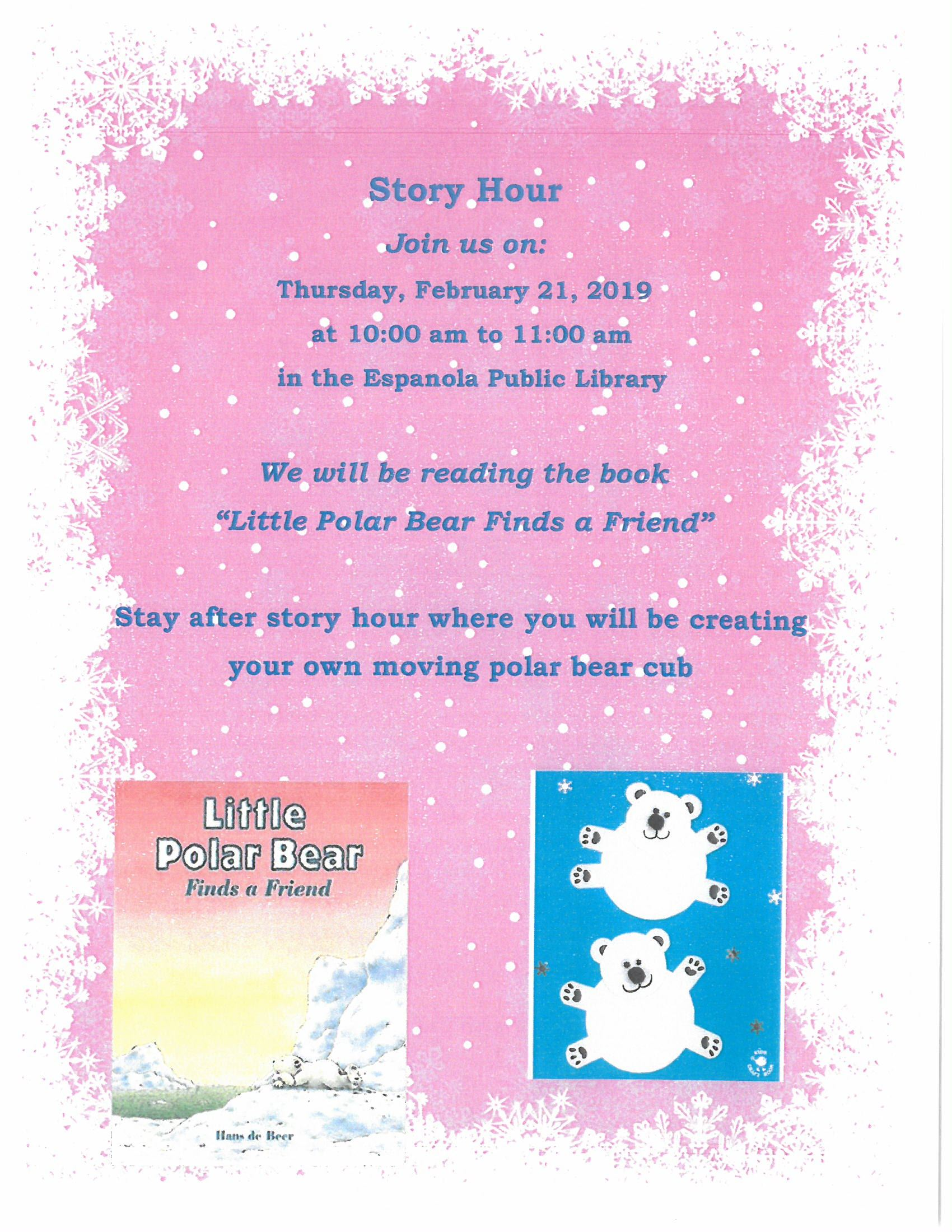 Story Hour 2-21