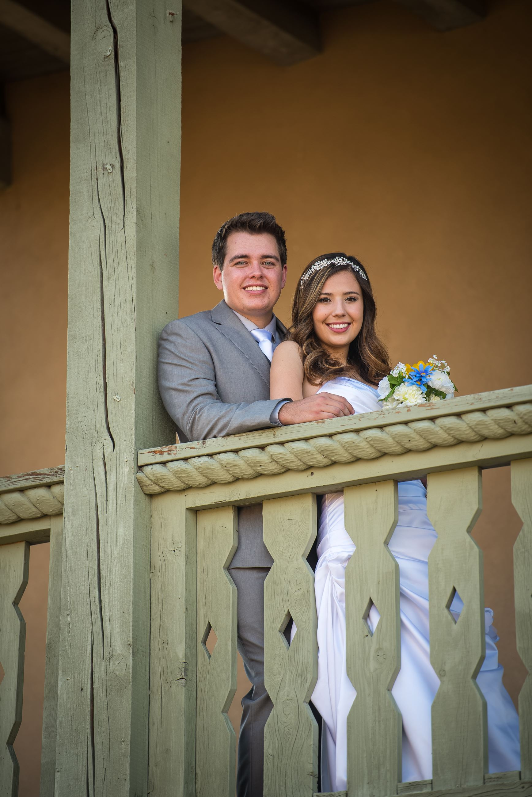 Wedding at Plaza Convento - Bride and Groom